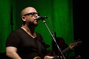 Black Francis - Black Francis with the Pixies in Barcelona.