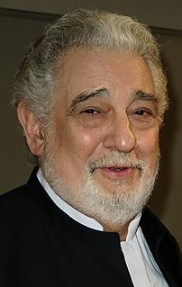Plácido Domingo Spanish tenor and conductor