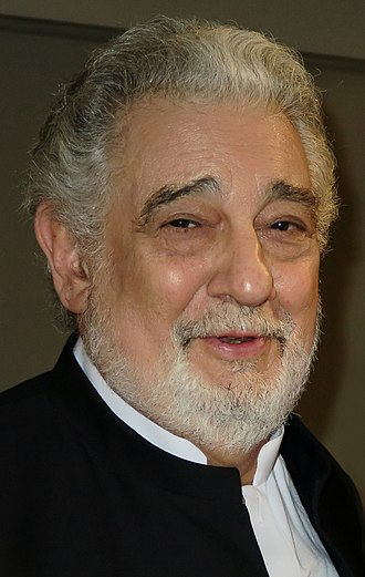Plácido Domingo - Domingo at an event in Barcelona on 3 May 2015