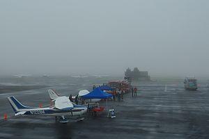Planes on tarmac at Hillsboro Airport - Oregon.JPG