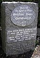 Plaque, Brachan House - geograph.org.uk - 1359751.jpg