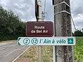 Plaque route Bel Air St Genis Menthon 6.jpg