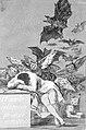 Plate 43 from 'Los Caprichos'- The sleep of reason produces monsters (El sueño de la razon produce monstruos) MET MM2149.jpg