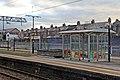 Platform furniture, Mossley Hill railway station (geograph 3819676).jpg