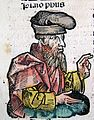 Plato in Nuremberg Chronicle LXXIIIv.jpg
