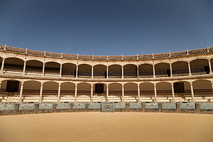 Take a Bow (Madonna song) - Plaza de Toros de Ronda, where the bullfighting scenes were shot