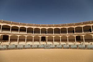 Take a Bow (Madonna song) - Plaza de Toros de Ronda, where the bullfighting scenes were shot