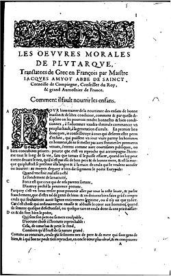 Plutarque, Amyot.jpg