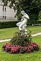 Poertschach Johannaweg 5 Villa Woerth Park-Statue 25062017 9858 9862.jpg