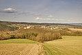 Pohled na Kunštát od Touboře, okres Blansko.jpg