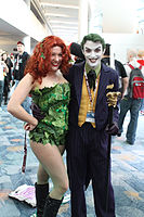 Poison Ivy and the Joker cosplay (6845662060).jpg