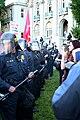 Police separate protesters--Berkeley.jpg
