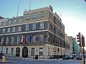 Embassy of Poland, London - Image: Polish Embassy 47 Portland Place London