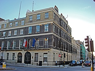 High Commission of Kenya, London - Image: Polish Embassy 47 Portland Place London