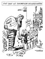 Political cartoon by David Orro - Chicago Mayor WH Thompson 1920.tif