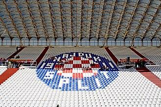 Stadion Poljud - Eastern stand