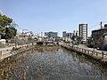 Pond of Aoi Aso Shrine from Misogibashi Bridge (east).jpg