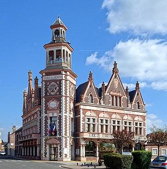 Pont-à-Vendin - The town hall of Pont-à-Vendin