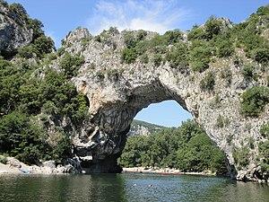 Ardèche - Image: Pont d'Arc Ardèche