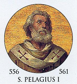 Pope Pelagius I pope