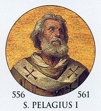 Pope Pelagius I - Image: Pope Pelagius I