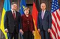 Poroschenko Merkel and Biden Security Conference February 2015.jpg