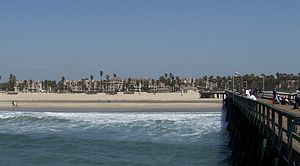 Port Hueneme, California - Beach and pier, Port Hueneme