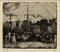 Port de Rouen by Camille Pissarro 1885.jpg