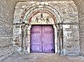 Portail et tympan de l'église Saint Hilaire.jpg