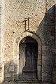 Porte de l'église Saint-Melaine (Pont-l'Évêque, Calvados, France).jpg