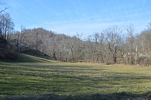 Upper Township, Lawrence County, Ohio - Scene along Porter Gap Road by Storms Creek