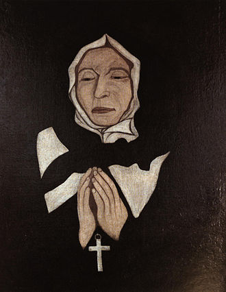 History of Quebec - St. Marguerite Bourgeoys (c.1700), one of the many women who contributed to their communities as nuns.