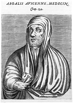 Portrait of Avicenna; anon., Wellcome M0009341.jpg