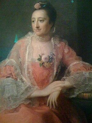 Elizabeth Montagu - Elizabeth Montagu by Allan Ramsay (1713-1784) in 1762.