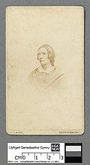 Portrait of Catherine Mary Evans's mother