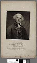 right honble. Richard Earl Howe, admiral of the fleet