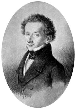 Song cycles (Killmayer) - Image: Portraitof Giacomo Leopardi from Chiarini Vita di Giacomo Leopardi