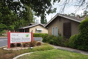 Monte Sereno, California - Post Office and City Hall in Monte Sereno