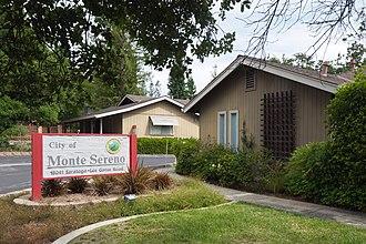 Monte Sereno, California - Post Office and City Hall in Monte Sereno
