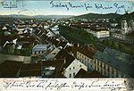 Postcard of Ljubljana from Ljubljana Castle 1903.jpg