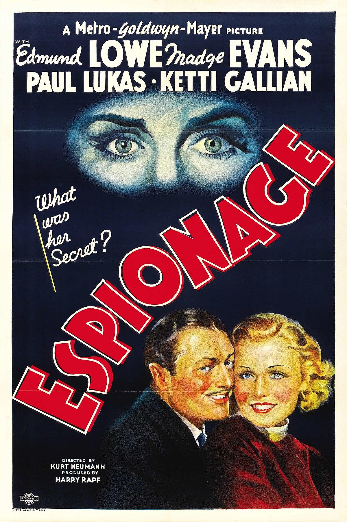 Espionage Film Wikipedia