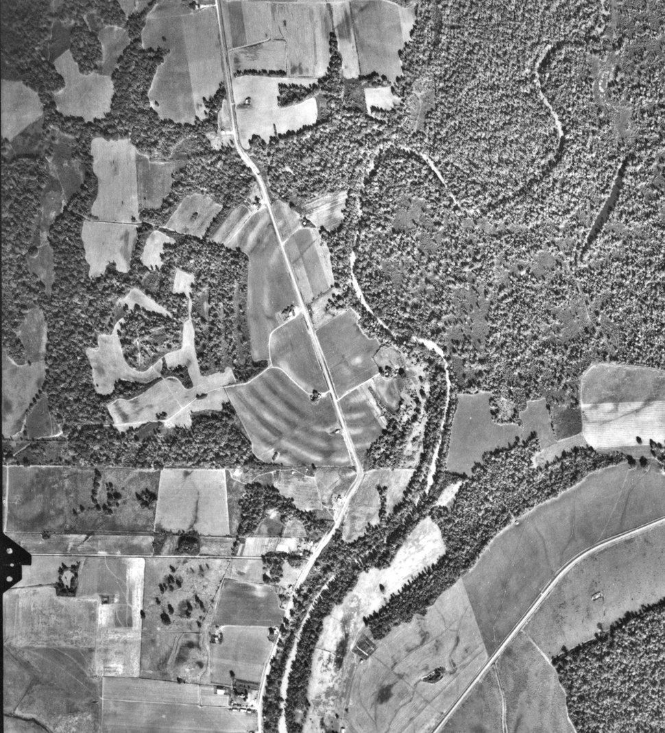 Povery Point Site, Louisiana, Aerial Photograph