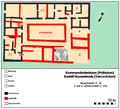 Prätorium Housesteads Bauphasen.png