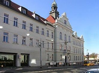 Prague 9 - Prague 9 town hall in Vysočany