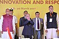 """Pranab Mukherjee at the inauguration of the International Conference on the theme of """"Universities of the Future Knowledge, Innovation and Responsibility"""" at O.P. Jindal Global University (JGU), at Sonipat, in Haryana.jpg"""