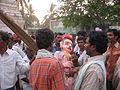Preparations for Siribomma Utsavam in Sri Vagdevi amma vaari jatara - Ryali.JPG