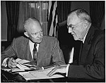 John Foster Dulles, Secretary of State and a highly influential Cold War policy maker