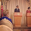 President Obama and Thai Prime Minister Shinawatra Hold a Joint Press Conference (8197040542).jpg
