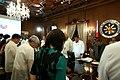 President Rodrigo Duterte and his Cabinet secretaries start with a prayer the 5th Cabinet Meeting.jpg