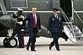 President Trump Arrives at Joint Base Andrews (40844467673).jpg